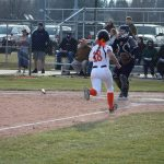 Girls Varsity Softball beats John Glenn 22 – 4