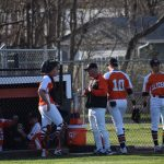 Boys Varsity Baseball falls to Portage 12 – 2