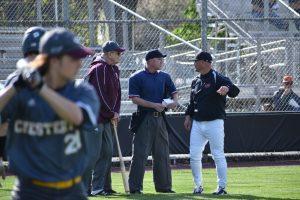 Varsity Baseball versus Chesterton