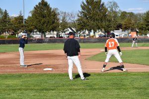 Varsity Baseball versus Michigan City