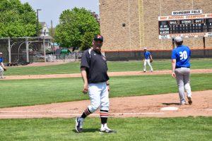 Varsity Baseball versus George Rogers Clark