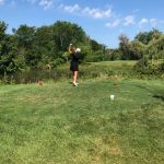 Girls Varsity Golf falls to Plymouth 221 – 233