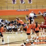 Slicers Cruise Past City in Straight Sets