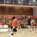 Slicers Sweep City; Win in Straight Sets