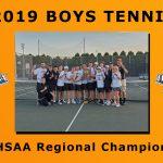 LaPorte Boys Tennis Wins the IHSAA Regional