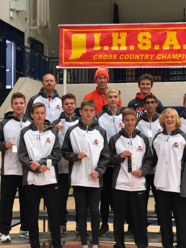 Slicer Boys Finish 3rd in New Prairie Cross Country Sectionals