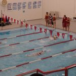 Girls Varsity Swimming falls to Elkhart Central 97 – 89