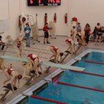 Girls Varsity Swimming falls to Lake Central 113 – 73