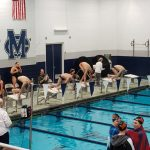 Boys Varsity Swimming falls to Elkhart Central 127 – 49