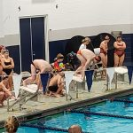 Boys Varsity Swimming falls to Lake Central 148 – 35