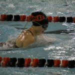 Girls Varsity Swimming finishes 5th place at DAC Championship