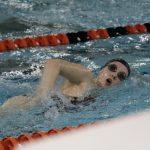Girls Varsity Swimming falls to Crown Point 112 – 68