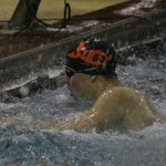 Boys Varsity Swimming falls to Valparaiso 145 – 36