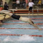 Boys Varsity Swimming falls to Chesterton