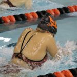 Girls Varsity Swimming beats Highland 119 – 62