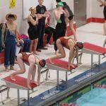 Girls Varsity Swimming falls to Warsaw 91 – 89