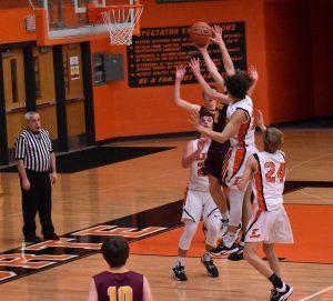 Boys Freshman Basketball vs Chesterton