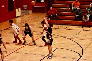 Boys Freshman Basketball vs Portage