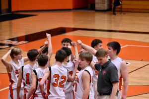 Boys Freshman Basketball vs Plymouth