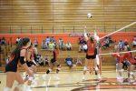 Girls Varsity Volleyball beats Merrillville 3 – 0