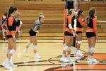 Girls Varsity Volleyball beats Carroll 2 – 0