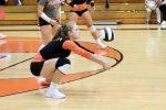 Girls Varsity Volleyball falls to Munster 2 – 1