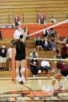 Girls Varsity Volleyball beats Bishop Dwenger 2 – 0