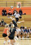 Girls Varsity Volleyball beats Fort Wayne Snider 2 – 0