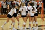 Girls Varsity Volleyball beats Lake Central 3 – 2
