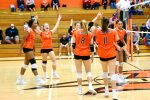 Girls Varsity Volleyball beats Valparaiso 3 – 0