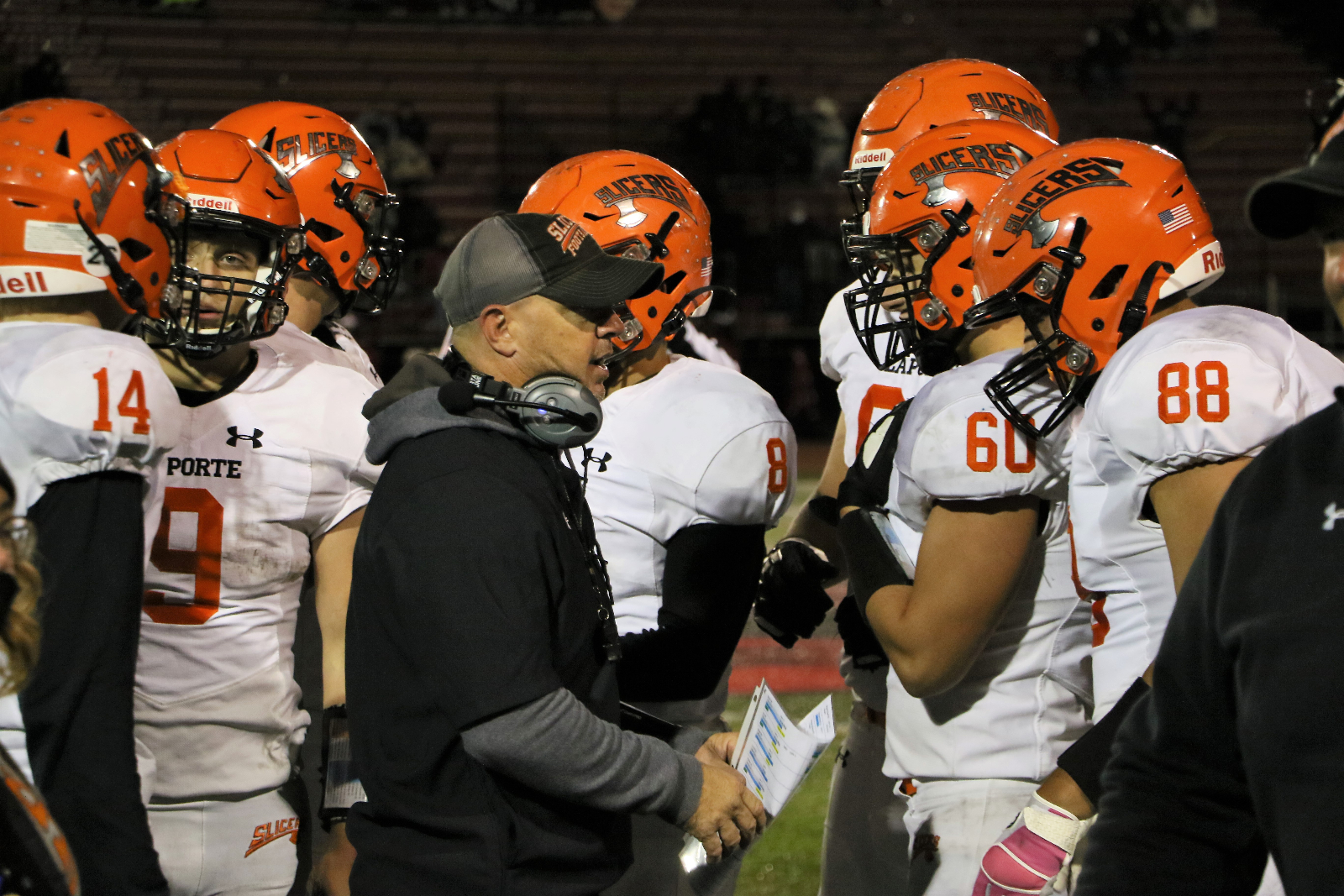 Slicer Sectional Football Ticket Information