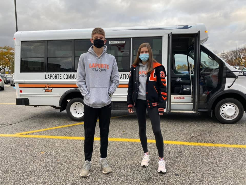Cross Country Send-Off Video