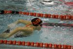 Girls Varsity Swimming beats Portage 117 – 55