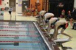 Boys Varsity Swimming beats Marian 58 – 36 and Jimtown 79-7 on Senior Day