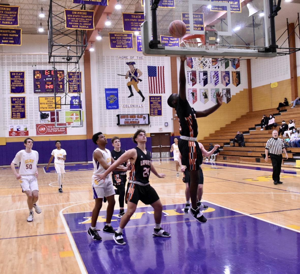 JV Basketball vs South Bend Clay