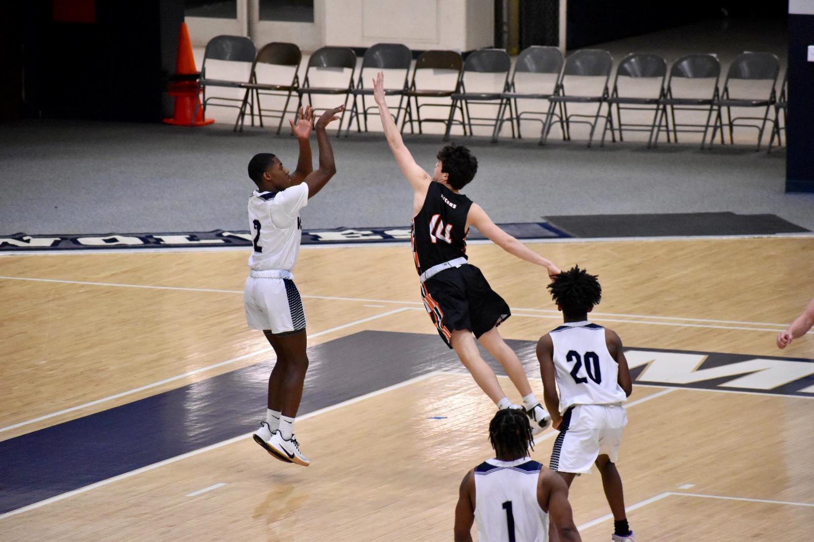 Boys JV Basketball vs Michigan City