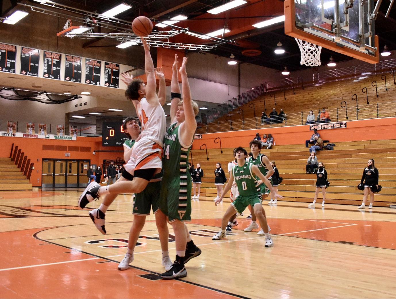 Boys JV Basketball vs Valparaiso