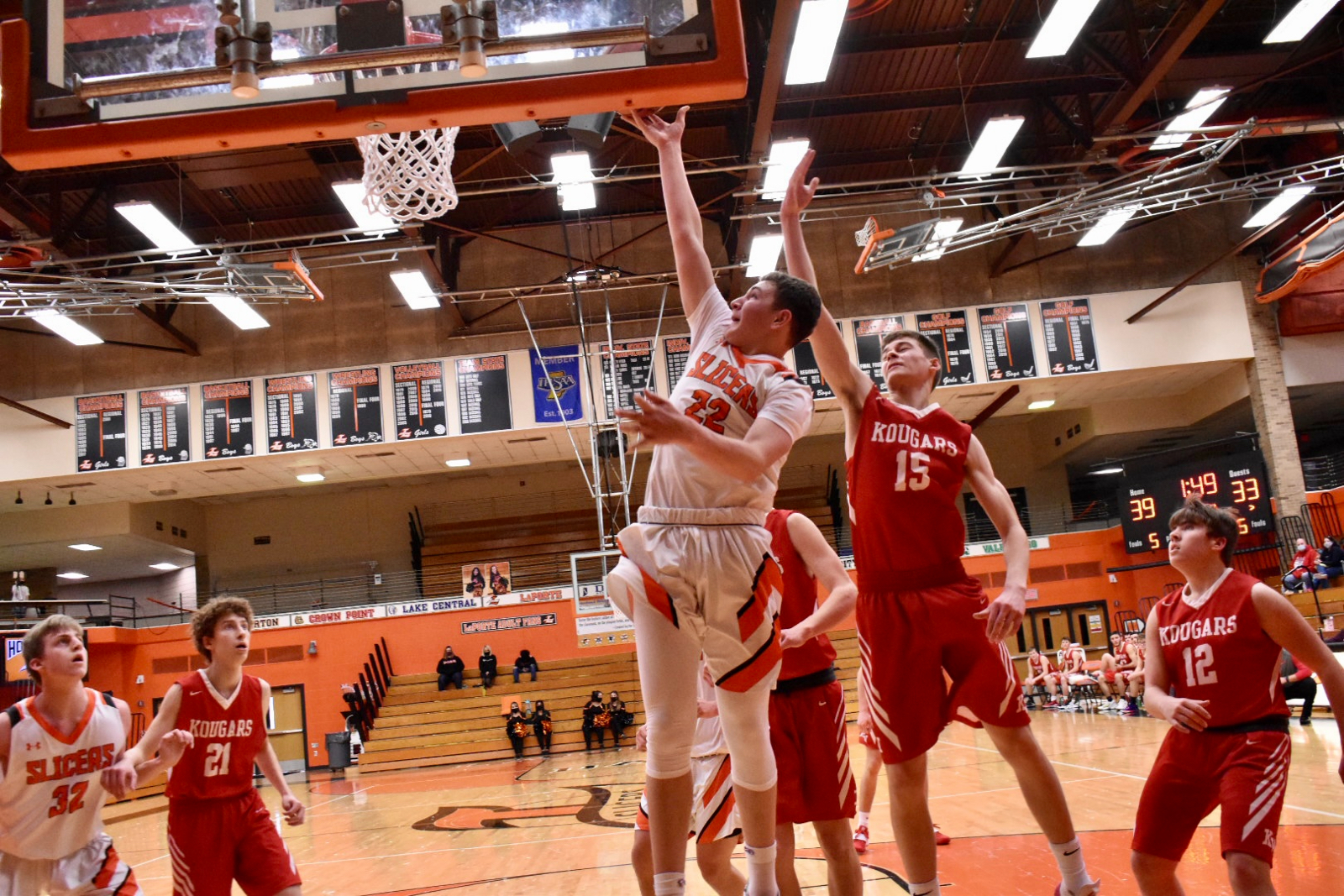 Boys JV Basketball vs Kankakee Valley