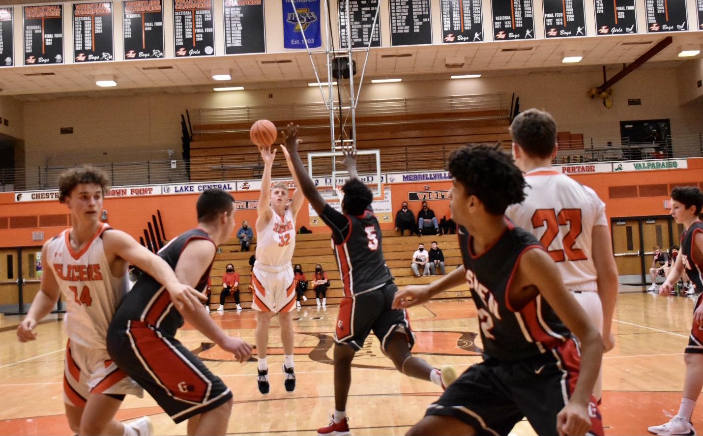 Boys JV Basketball vs Goshen