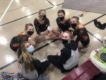 Girls Varsity Gymnastics finishes 7th place at DAC Championship