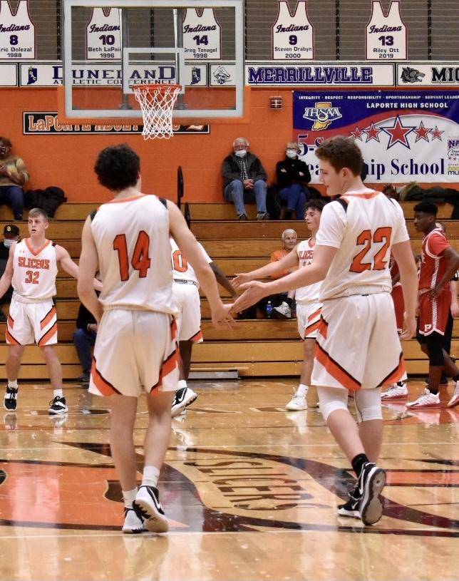 Boys JV Basketball vs Portage