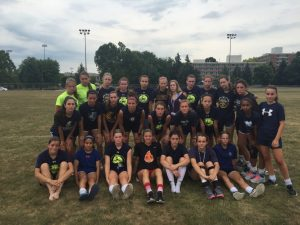 Girls Soccer Camp – Penn State July '16