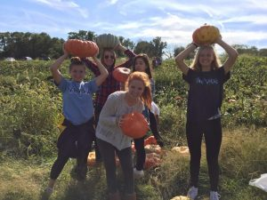 BCC Girls JV Soccer – Team Bonding and Pumpkin Picking