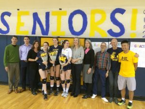 Girls Volleyball Senior Night