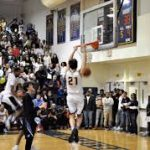 Boys Varsity Basketball beats Whitman 50 – 38