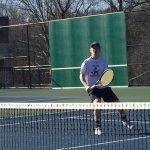 Varsity Boys Tennis Barons Lose to Churchill 1-6