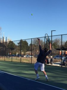 Boys Varsity Tennis v. Churchill