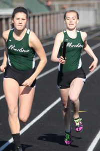 MEDINA VS SOLON TRACK MEET