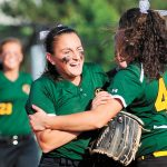 Softball: Bees overcome sloppy play to make title game