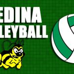 Medina High School Volleyball Varsity falls to Saint Vincent-Saint Mary High School 15-25